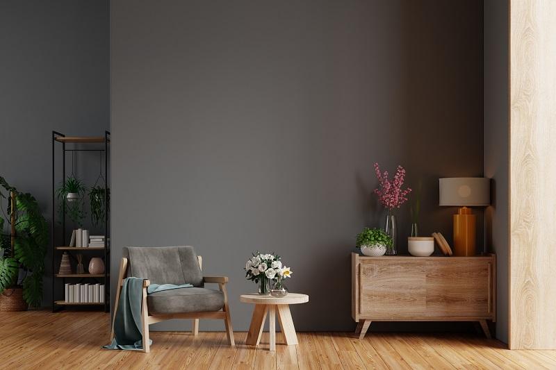 Fotel do salonu a styl aranżacji wnętrza